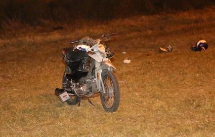 Un motonetista resultó lesionado tras chocar con otro vehículo, ocurrió anoche en zona de La Gaviota
