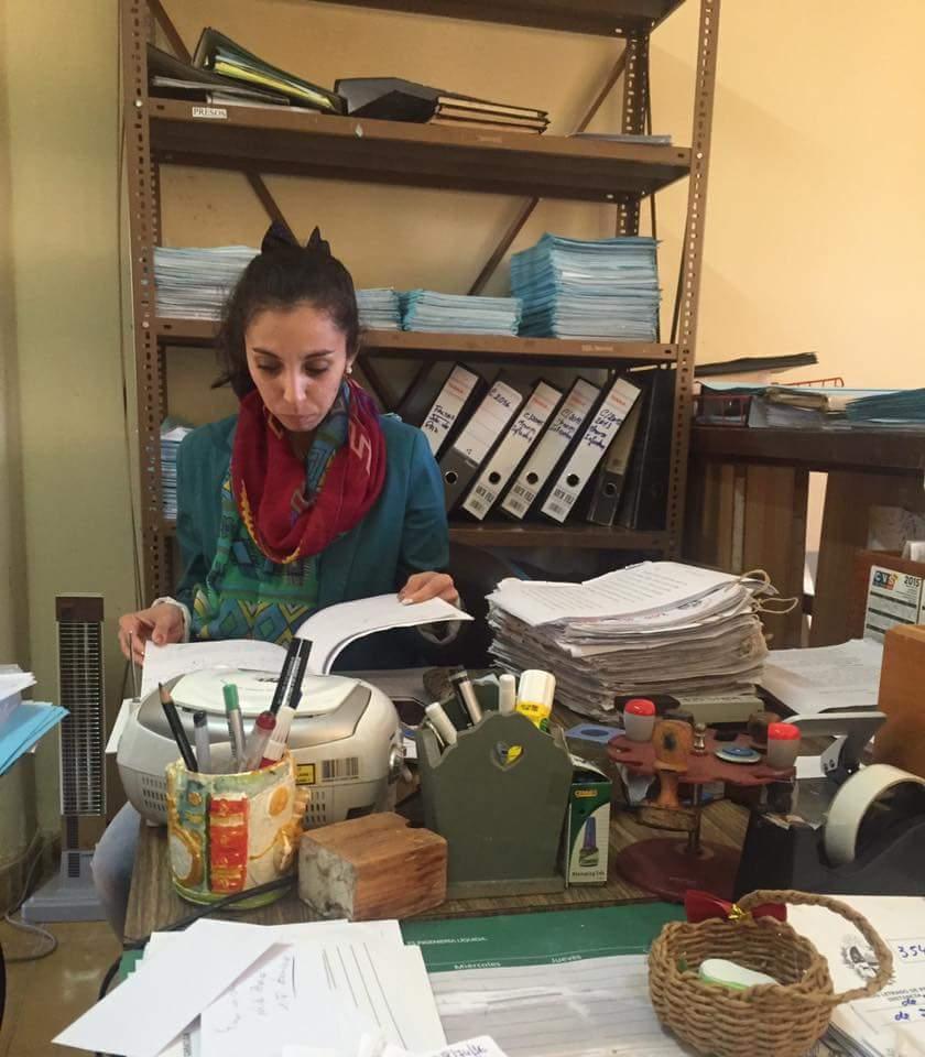 INFORME testimonio - Luisa estudiante de Derecho