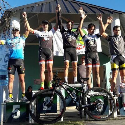 El salteño Kian Santana logró la victoria en Federal por la cuarta fecha del Campeonato Entrerriano de MTB