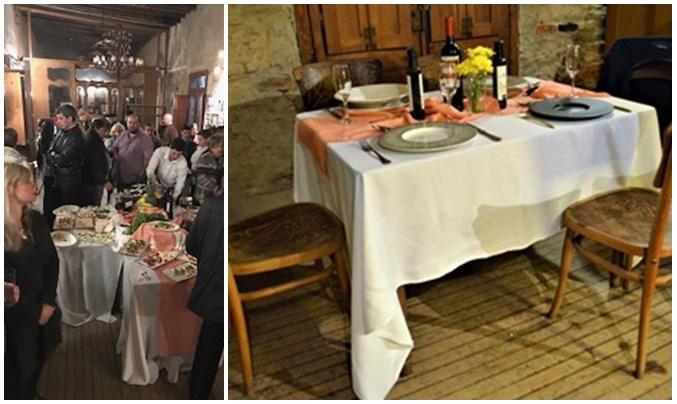 De la mano de Laura Suárez  en pastelería Gourmet y el Chef Luis Greno se inauguró el  Salón de Té y Bistró en el Gran Hotel Concordia a mediados del mes de mayo pasado.