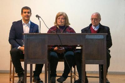Profesores Facundo Jardím, Rosario Gomez y José Luis Guarino