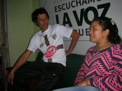 Rafael García y María Fernanda Araújo. Miramientos por Saladero. El fútbol como eje