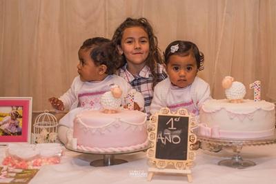 Las tres hermanitas, Liz, Jazmín y Violeta