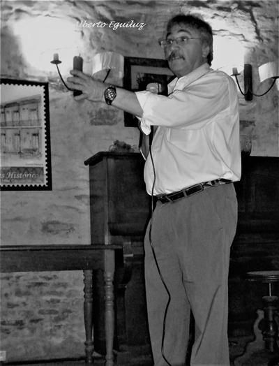 Alberto Eguiluz, autor de la muestra