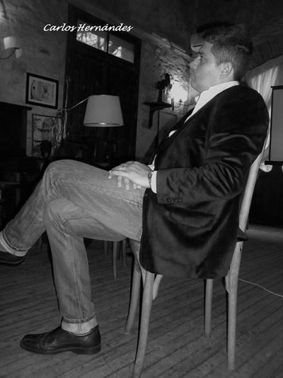 Carlos Hernández, autor de la muestra