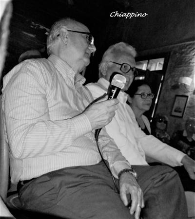 Walter Chiappino y Américo Gaudín