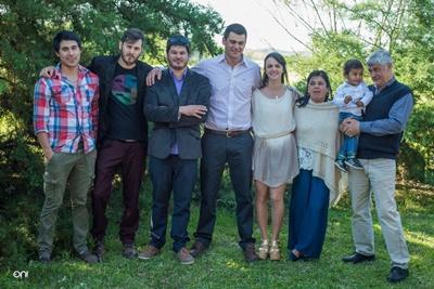 Alberto y familia