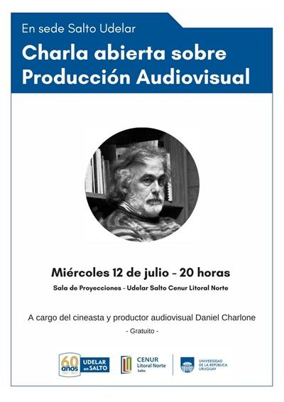 Charla Produccion Audiovisual en Udelar Salto