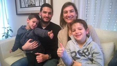 HIjos y nietos de Ricardo Scaparoni