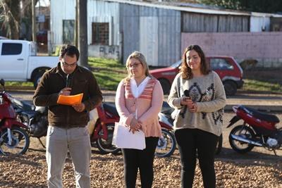 Luego de casi nueve años integrantes de   CO.VI.CEN (Cooperativa de Viviendas Centro) de Ayuda Mutua  vivieron una autentica fiesta a la hora de recibir las llaves de sus hogares.