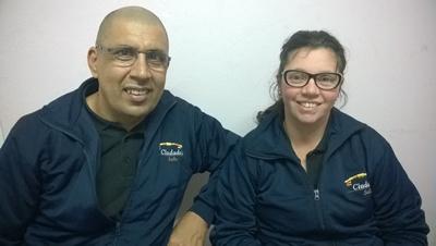 Mario Souto y Leticia Ribero