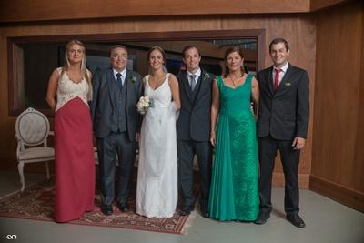 Inés Pérez, Héctor Juan Prieto, Agustina y Juan Martín, Graciela Burutarán, Juan Manuel Prieto  Burutarán