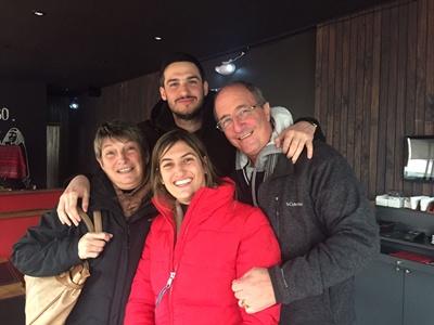 Ricardo Scaparoni e hijos