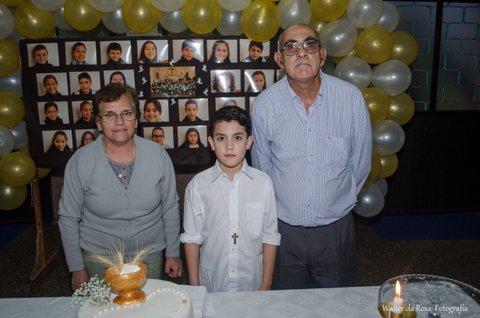Juan Cruz y los abuelos