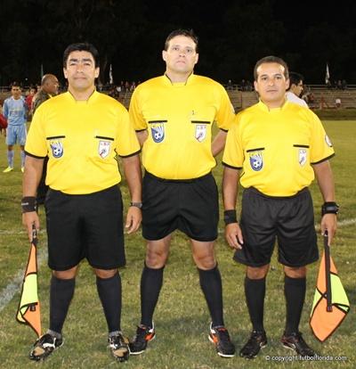 Marcelo Díaz, José de los Santos y Miguel Pereira.  Pero faltan más jueces