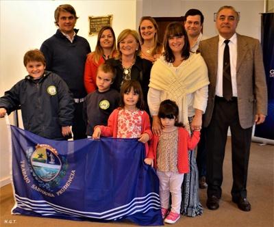 Carlos Etchevers y la familia