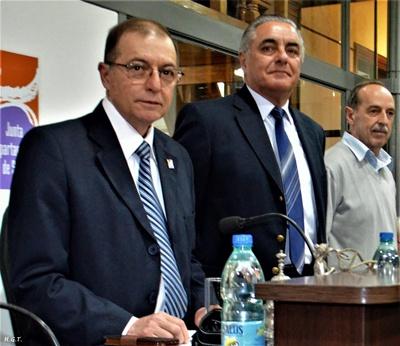 En la Junta Departamental Alberto Villasboas, Carlos Etchevers, Manuel Barreiro