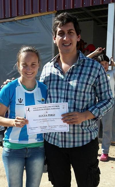 GOLEADORA LUCIA PIRIZ