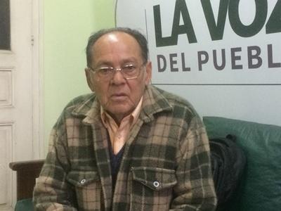 Vecino del barrio Horacio Quiroga Antonio Acosta