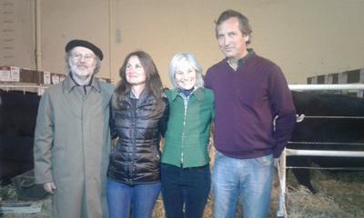 Juan Bouza, María Mattos, Elisa Trabal, Carlos Guinovart