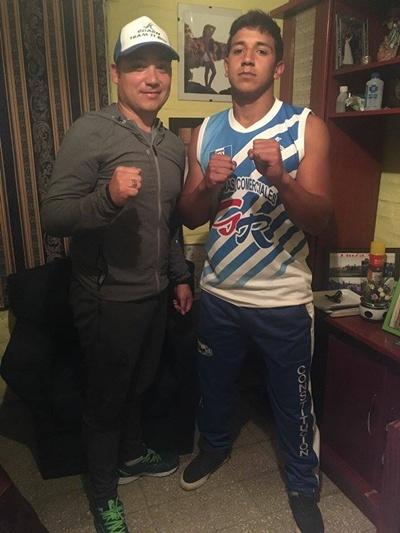 Gustavo Benitez y Christian Bravo