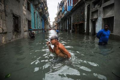 Asi quedó Cuba tras el paso de Irma antes de llegar a Miami