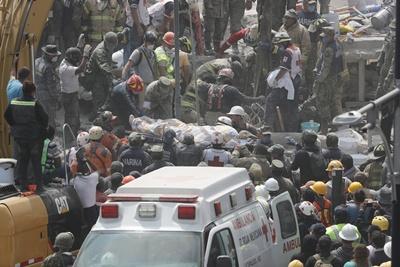 Asciende a 225 la cifra preliminar de fallecidos por el terremoto en México