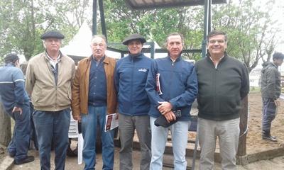 Alejandro Stirling, Roberto Bertsch, Diego Otegui, Carlos Martín Correa y Martín San Román