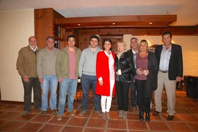 Lewis Rochón, Aldo García da Rosa, Federico García da Rosa, Mauricio García da Rosa, Elsa García da Rosa, Vasquin Peixoto, Andrea García da Rosa y Horacio Panissa.