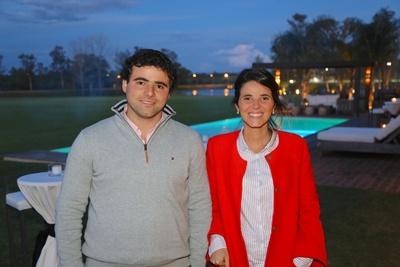 Mauricio y Mercedes García da Rosa, principales