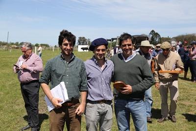 Guzmán Alfonso, Fernando Alfonso y Diego Otegui