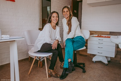 Leticia Menoni y Valentina Llama, Bio Integrale