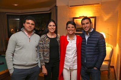 Lic. Mauricio García da Rosa, Arquitecta Victoria Urruela,  Lic. Mercedes García da Rosa, Lic. Ignacio Bercetche