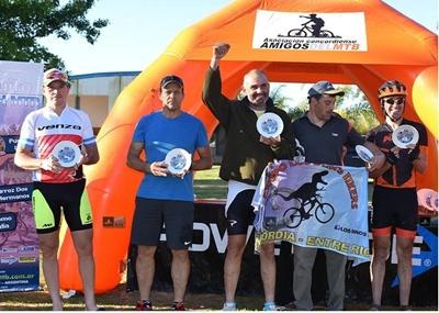 El salteño Juan Da Rosa ganó en la categoría Máster B el pasado fin de semana en Villa Adela