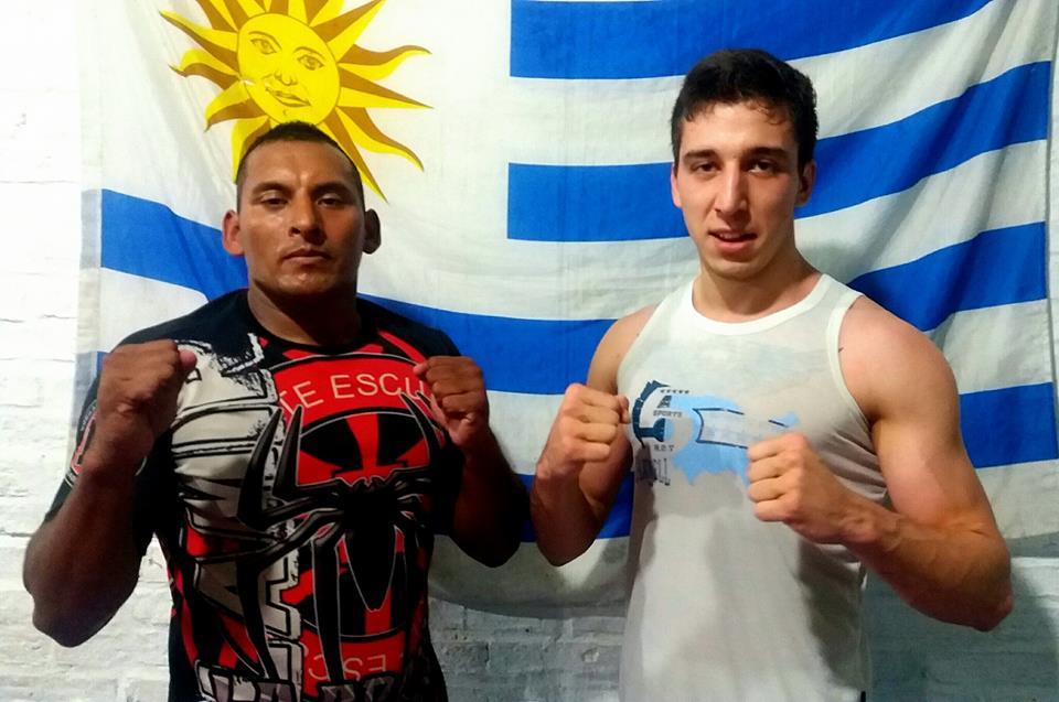 Néstor Rombys y Brian Barth dirán presentes en el espectáculo internacional de MMA en diciembre en Circulo Sportivo.
