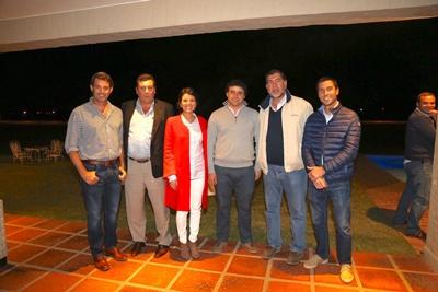 Bernardo De Lisa, Horacio Panissa,Mercedes García da Rosa,  Mauricio García da Rosa, Álvaro Compá, Ignacio Bercetche.