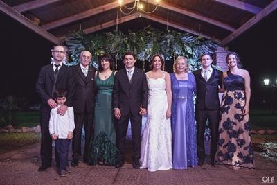 Mauricio Abarno,  Juan Manuel Abarno, Eduardo Corbo, Leticia Corbo,Maxi y Carolina, Shirley Grassi,Juan Andrés da Cunda y Cecilia Corbo