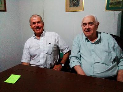 Eduardo Pigurina y Juan Manuel Aguerre