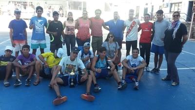Los estudiantes de UTU participaron de un torneo  de fútbol sala en Casa de los Deportes