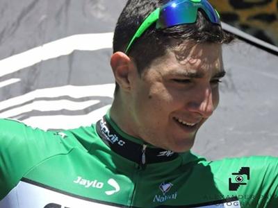 Mauricio Moreira será profesional en el 2018 en  España, firmó para el Team Caja Rural