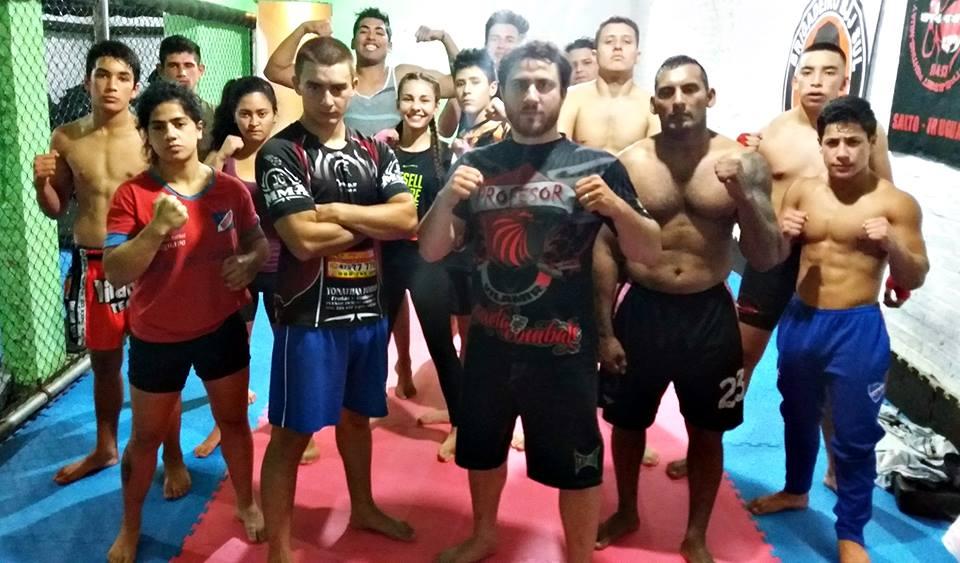 El 9 de diciembre será el gran día de las Artes Marciales Mixtas en Salto, los luchadores  de la Escuela Vilamir están prontos para dar todo en la Jaula