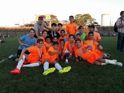 Los gurises de Salto 12 años finalizaron en el cuarto puesto en la Copa de Plata