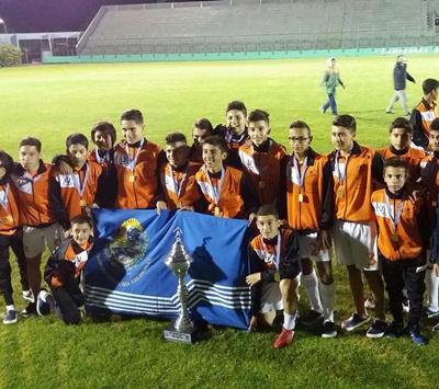 La selección de Salto categoría 13 años logró el vicecampeonato  Nacional el pasado fin de semana en Maldonado