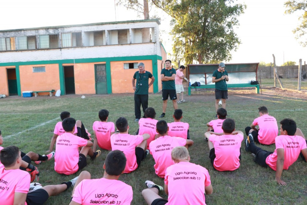 La Sub 17 de la Liga Agraria se prepara bajo  el mando de Ignacio Piastri para la Copa Nacional