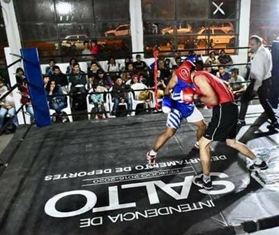 El boxeo amateur  recorrió varios barrios  de nuestra ciudad  promocionando los  nuevos valores