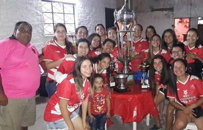 Las chicas de Ceibal se quedaron con el Salteño de Fútbol Femenino 2017, esta noche serán premiadas en forma oficial