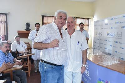 Dr. Richard Boucq y Dr. Atilio Galvalisi