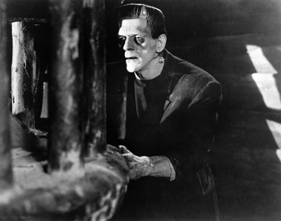 Frankenstein, Boris Karloff, 1931. 1