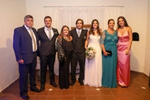 Padres y hermanos de Amelia, Luis Ardaiz, Juan Ardaiz, Magdalena Ardaiz, Germán y Amelia y Marianella Rodríguez