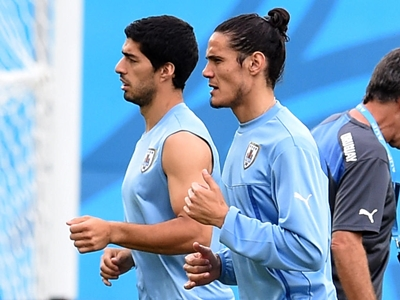 Uruguay Training & Press Conference - 2014 FIFA World Cup